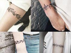 Inspiração: Tatuagens braceletes - Não Complica