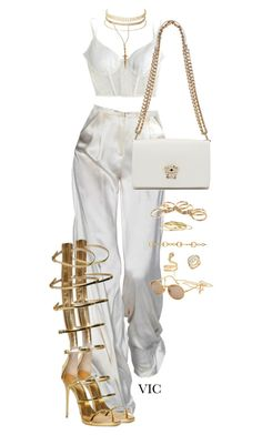 A fashion look from april 2017 by stylebyvic featuring kiki de montparnasse Glamouröse Outfits, Kpop Fashion Outfits, Stage Outfits, Cute Casual Outfits, Polyvore Outfits, Stylish Outfits, Kpop Mode, Jugend Mode Outfits, Looks Chic