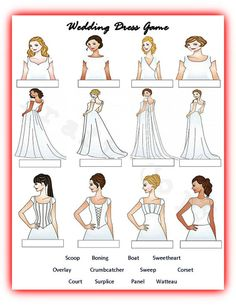 Bridal Shower  Wedding Shower Guess the Wedding Dress Game
