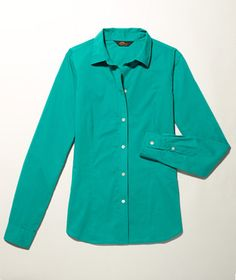 L.L.Bean Signature Lightweight Poplin Shirt