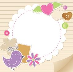 Cute baby backgrounds vector 02 - Vector Background free download