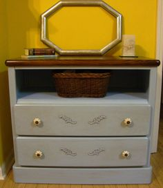Salvaged dresser - Who needs a drawer?