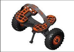 kayak fishinf trolley - kayaking accessories