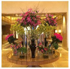 Mix & modern flower arrangement