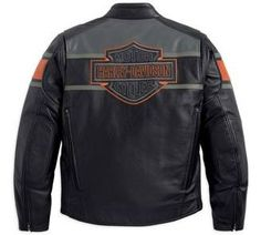 Mens Harley Davidson Corona  In  Leather Motorcycle Jacket