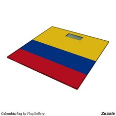 Shop Colombia flag bathroom scale created by FlagGallery. Colombian Flag, Succulents Diy, Business Supplies, Invitation Cards, Art For Kids, Personalized Gifts, Scale, Bathroom