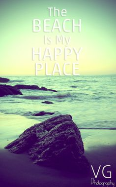 The Beach is My Happy Place and will always be! +++for more quotes about #summer and having #fun, visit http://www.quotesarelife.com/