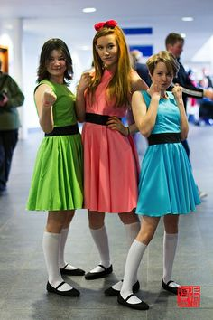 Power Puff Girls | MCM Expo 2014 - I've found what I want to do for Halloween!