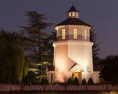 Valencia Bridgeport evenings can be magical - Lighthouse, Bridgeport Valencia California -  City of Santa Clarita California