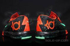 Preview: Nike KD VI   Black, Orange & Teal