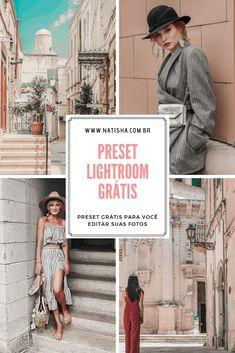 Presets Do Lightroom, Lightroom Gratis, Free Photo Filters, Photoshop, Poses, Instagram Feed, Digital Marketing, Vsco, Photo Editing