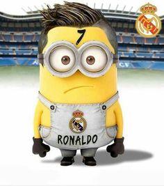 Cristiano Ronaldo in minion form awwwwww