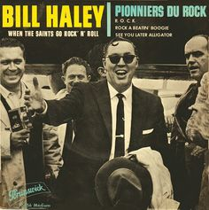 SIXTIES BEAT: Bill Haley and His Comets See You Later Alligator, Bill Haley, American Bandstand, Rock N Roll Music, Rockn Roll, Vintage Rock, Monster Party, Hillbilly, Psychobilly