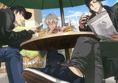 Conan, Dc Police, Amuro Tooru, Kudo Shinichi, Vida Real, Magic Kaito, Case Closed, Doujinshi, Anime Guys