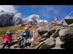 MOUNT ONTAKE VOLCANO ERUPTS, SEPTEMBER 2014