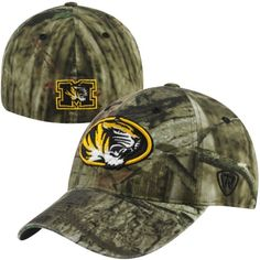 detailed look 11e77 5f0be Missouri Tigers One Fit Mossy Oak Resistance Hat by Top of the World Texas  Bowl,