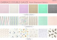 Embrace Double Gauze! so many options-  Make a Double Gauze Shawl with Pom Accents @sew4home  http://www.shannonfabrics.com/index.php?main_page=new_arrivals&cat_id=1081 #Embrace #doublegauze