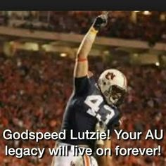 Thank you for the memories...you will always be a part of the Auburn family. Rest in peace ...we know you will represent Auburn well inside the pearly gates.
