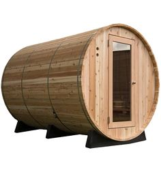 Almost Heaven Princeton 72 Inch 6 Person Barrel Sauna, x with Heater Size, Interior LED Light, Cedar Heater Guard and Tempered Glass Door in Rustic Cedar Lumber Cedar Lumber, Red Cedar Wood, Electric Sauna Heater, Sauna Kits, Barrel Sauna, Traditional Saunas, Portable Sauna, Outdoor Sauna, Interior Led Lights