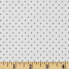 Riley Blake Swiss & Dots White/Gray from @fabricdotcom  Designed by RBD Designers for Riley Blake Designs, this cotton print fabric is perfect for crafts, quilting, apparel and home décor accents.