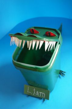 Cascade Container Made Into A Cute Alligator Just Great
