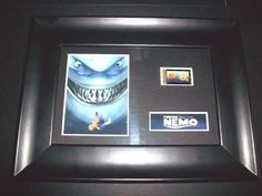 FINDING NEMO Framed Movie Film Cell Memorabilia Compliments poster dvd - cell, compliments, Dvd, Film, FINDING, framed, Memorabilia, MOVIE, Nemo, POSTER