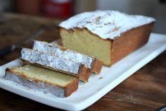 Brown Butter Pound Cake with Figs - a guest post at Go Bake Yourself | Vintage Kitchen Notes