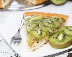 Tarte Aux Kiwis, Kiwi Recipes, Coco, Yummy Food, Sweets, Lunch, Vegetables, Cooking, Quiches