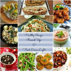 Healthy Recipe Round Up 17 www.fooddonelight.com #healthyrecipes