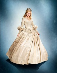 "The gorgeous dresses from ""La Belle et La Bête"" 