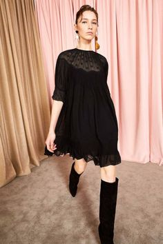 Evangeline Dress - Noir