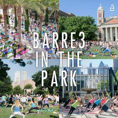 barre3 in the Park Summer Recap 2015