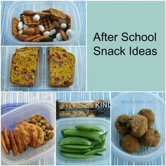 Lunch and After School Snack Ideas for Teens