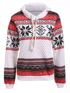 GET $50 NOW | Join RoseGal: Get YOUR $50 NOW!http://www.rosegal.com/sweatshirts-hoodies/polka-dot-christmas-snowflake-pullover-865765.html?seid=6475716rg865765