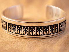 Handmade cuff bracelet, by Santo Domingo artist Joseph Coriz.