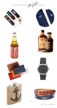 Great gifts for your groomsmen!