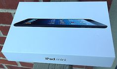 Apple Ipad Mini Box/Case ONLY