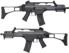Heckler and Koch HK G36C Side view g36 side view weapon rifle weapons rifles firearm assault rifle
