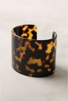 tortoise shell cuff. I received one for Christmas. I love it! (thanks Nat)