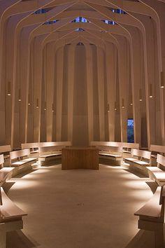 Bishop Edward King chapel / Níall McLaughlin Architects
