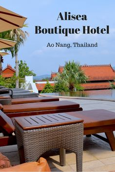 Hotel Review: My wonderful stay at Alisea Boutique Hotel in Aonang, Krabi - Thailand