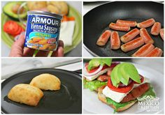 Mexican Sausage Sandwich, remaking my childhood treat. - Mexico In My Kitchen Mexican Food Recipes, Snack Recipes, Snacks, Mexican Sausage, Mexican Sandwich, Vienna Sausage, Sausage Sandwiches, French Baguette, Types Of Bread