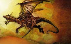 desert dragon by destrado04