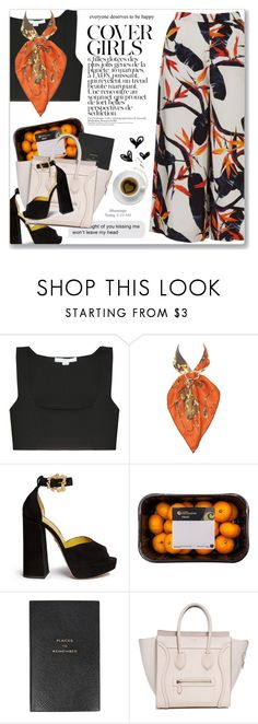 """Cool For The Summer, Demi Lovato"" by blendasantos ❤ liked on Polyvore featuring Alexander Wang, Hermès, Charlotte Olympia, Smythson and Zone"