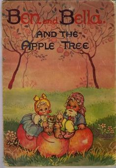 8-x-1940s-BEN-BELLA-THE-APPLE-TREE-LAMINATED-ILLUSTRATED-PAGES-P-Maltby