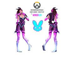 ArtStation - Cyber-bunny Sombra, Carmen Carballo (WANDAKUN)