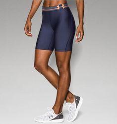 """Women's UA HeatGear® Armour 7"""" Long Shorts"""