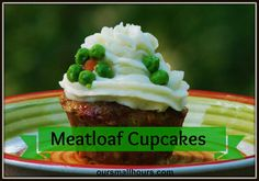 This is a SERIOUSLY FUN way to serve meatloaf! I can't wait to try it.