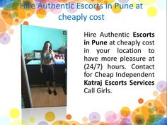 """""""Hire Authentic Escorts in Pune at cheaply cost"""" published by """"veerajainpune"""" on @edocr"""