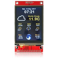 If you don't mind code which is a little bit rough around the edges you can start experimenting with the code for the color weather station. I just published it